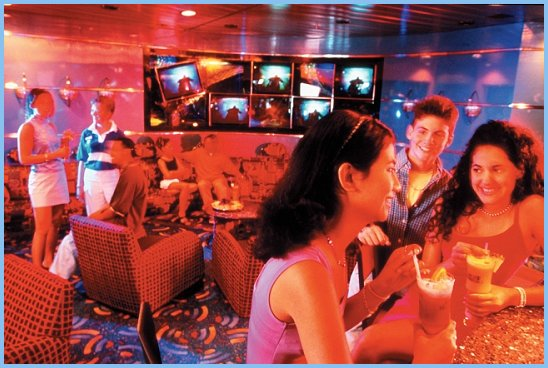 Adventure of the Seas Teen Disco