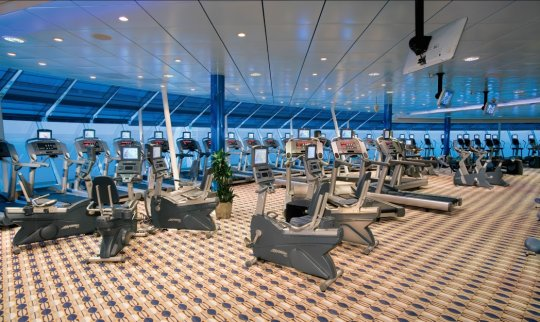 Freedom of the Seas Fitness Center & Gymnasium