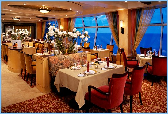 Adventure of the Seas Portofino Italian Restaurant