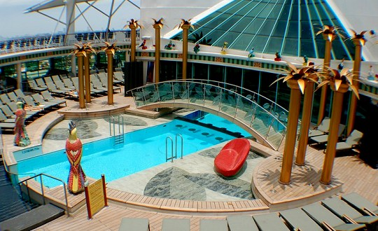 Freedom of The Seas Solarium